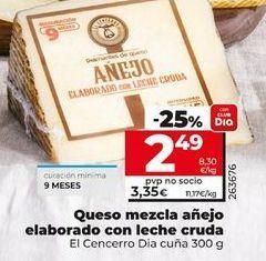 Oferta de Queso mezcla Dia por 2,49€