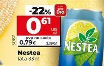 Oferta de Refresco sin gas Nestea por 0,61€