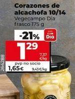 Oferta de Corazones de alcachofa Dia por 1,29€
