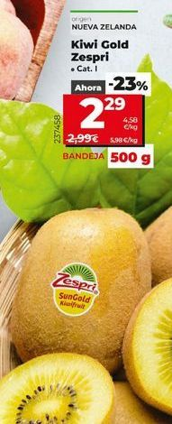 Oferta de Kiwis por 2,29€
