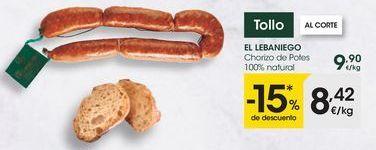 Oferta de Chorizo por 8,42€