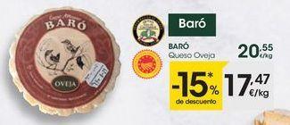 Oferta de Queso de oveja por 17,47€