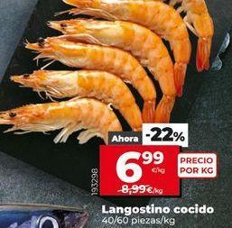 Oferta de Langostinos cocidos por 6,99€
