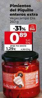 Oferta de Pimientos del piquillo por 1,19€