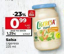 Oferta de Salsas Ligeresa por 1,25€