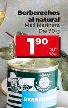 Oferta de Berberechos por 1,9€