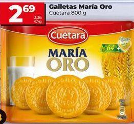 Oferta de Galletas María Cuétara por 2,59€