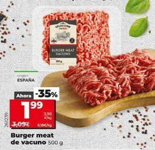 Oferta de Hamburguesas por 1,99€
