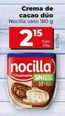 Oferta de Crema de cacao Nocilla por 1,99€
