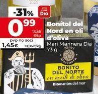 Oferta de Bonito en aceite de oliva por 1,39€