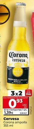 Oferta de Cerveza Corona por 1,35€