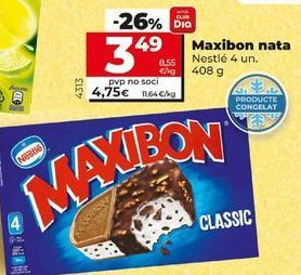 Oferta de Helados Maxibon por 4,75€