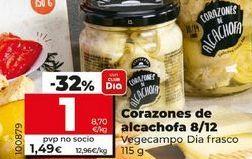 Oferta de Corazones de alcachofa por 1,37€