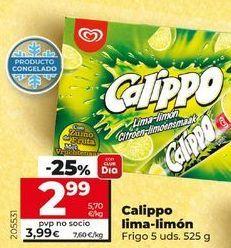 Oferta de Helados Calippo por 3,99€