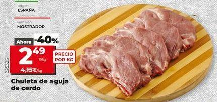 Oferta de Chuletas de cerdo por 2,49€