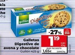 Oferta de Galletas Digestive Gullón por 1,55€