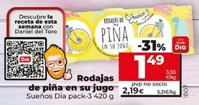 Oferta de Piña por 2,09€