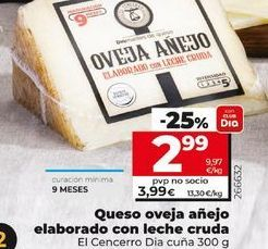 Oferta de Queso de oveja por 3,99€