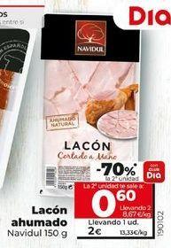 Oferta de Lacón ahumado Navidul por 2€