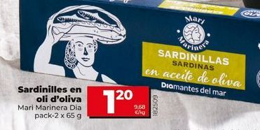 Oferta de Sardinillas en aceite por 1,2€