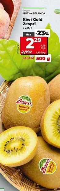 Oferta de Kiwis zespri por 2,29€
