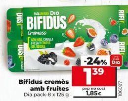 Oferta de Yogur bífidus Dia por 1,39€