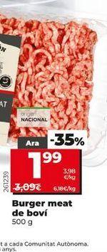 Oferta de Carne picada de vacuno Dia por 1,99€