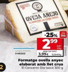 Oferta de Queso de oveja Dia por 2,99€