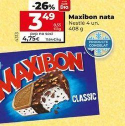 Oferta de Helados Maxibon por 3,49€