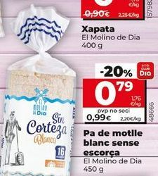 Oferta de Pan de molde Dia por 0,79€