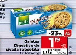 Oferta de Galletas Digestive Gullón por 1,19€