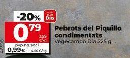 Oferta de Pimientos del piquillo Dia por 0,79€