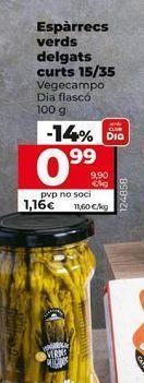 Oferta de Espárragos verdes Dia por 0,99€