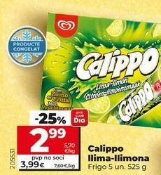 Oferta de Helado polo Calippo por 2,99€