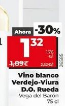 Oferta de Vino blanco por 1,32€