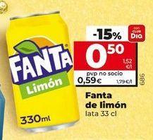 Oferta de Refresco de limón fanta por 0,59€