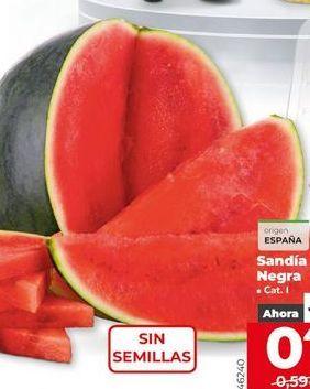 Oferta de Sandía por 0,44€