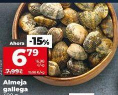 Oferta de Almejas por 6,79€
