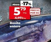 Oferta de Bonito por 5,79€