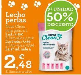 Oferta de Arena para gatos por 2,48€
