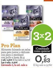 Oferta de Comida para gatos Purina por 1,25€