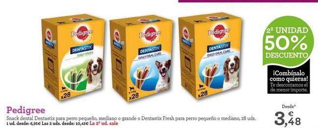 Oferta de Snacks para mascotas Pedigree por 6,95€