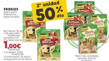 Oferta de Snacks para mascotas Friskies por 1,99€