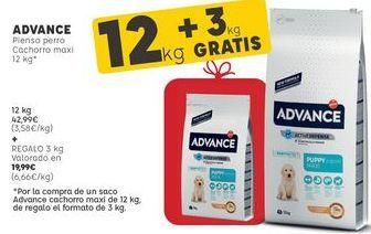 Oferta de Comida para perros Affinity por 42,99€