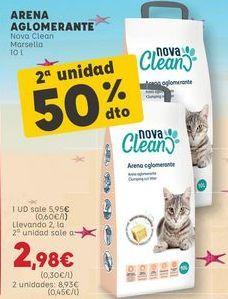 Oferta de Arena para gatos por 5,95€
