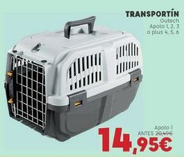 Oferta de Transportín por 14,95€