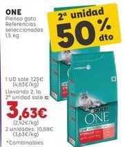 Oferta de Comida para gatos Purina por 7,25€