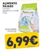 Oferta de Comida para pájaros por 6,99€