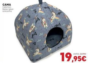Oferta de Cama para perros por 19,95€