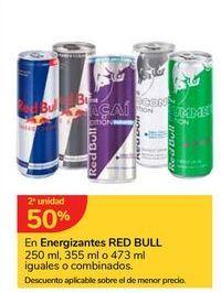 Oferta de En Energizantes RED BULL por